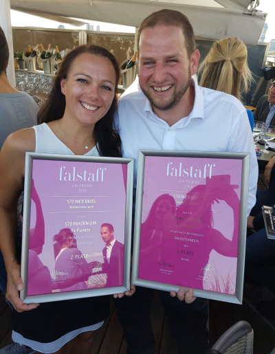 Falstaff Gin Trrophy 2018: Bester Gin Österreichs und und zweitbester London Dry Gin internationa